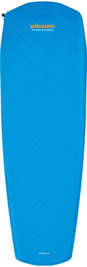 Modrá samonafukovací karimatka Matrix 25, Pinguin - délka 198 cm, šířka 63 cm a tloušťka 2,5 cm