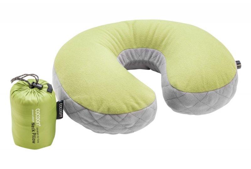 Nafukovací polštář Ultralight Air-Core wasabi, Cocoon