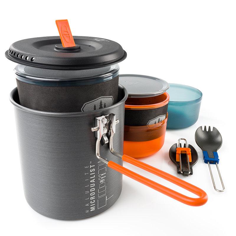Sada nádobí Halulite Microdualist, GSI Outdoors