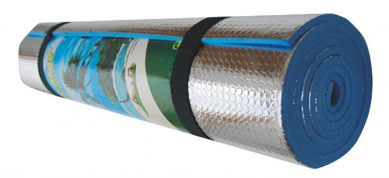 Pěnová karimatka - délka 180 cm, šířka 50 cm a tloušťka 1 cm