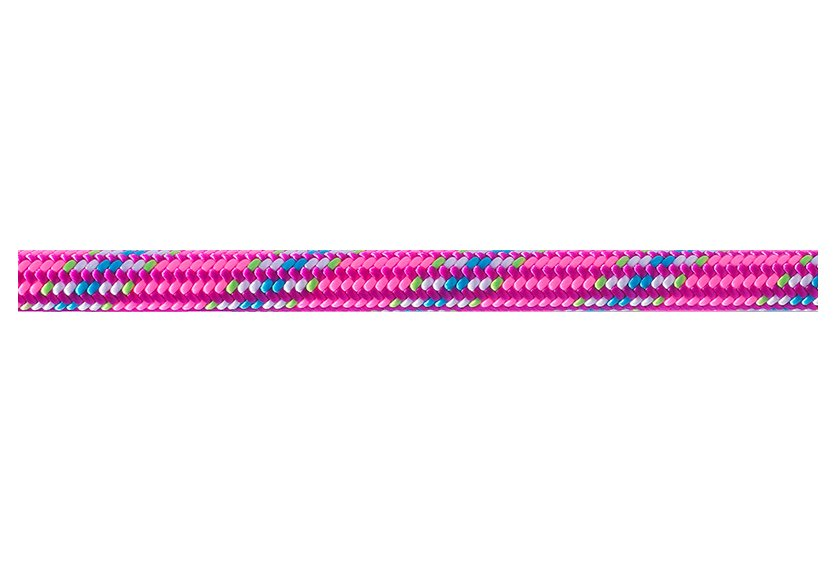 Růžové lano Ice Line Unicore, Beal - délka 60 m a tloušťka 8,1 mm