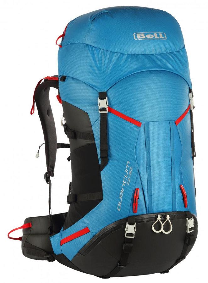 Modrý turistický batoh Quantum 72-92, Boll - objem 45 l
