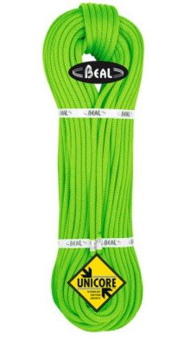 Zelené lano Opera Unicore, Beal - délka 70 m a tloušťka 8,5 mm