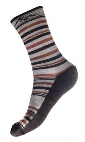 Šedé merino pánské ponožky Autumn merino, Fjord Nansen