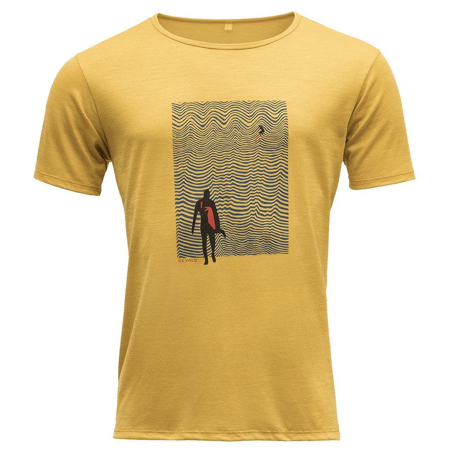 Merino pánské tričko Hoddevika Man Tee, Devold - velikost XL