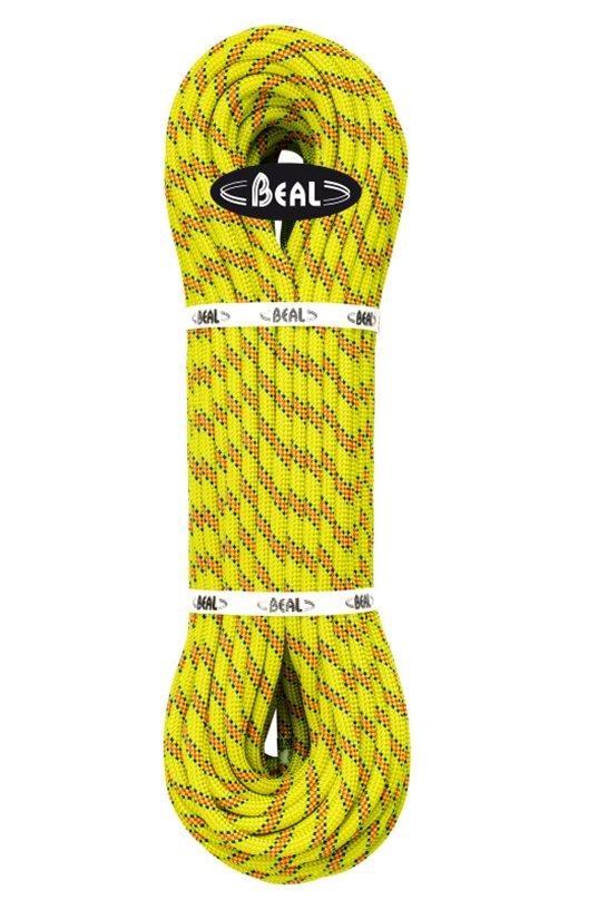 Žluté lano Karma, Beal - délka 40 m a tloušťka 9,8 mm