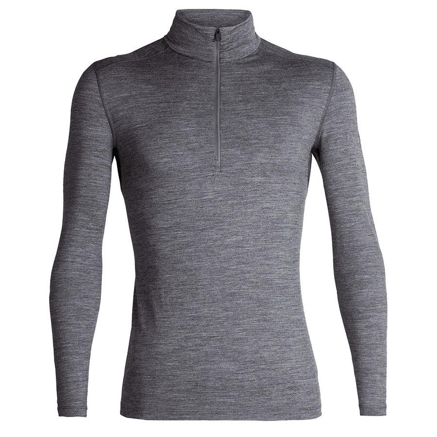 Merino pánské tričko Mens 200 Oasis LS Half Zip, Icebreaker - velikost M