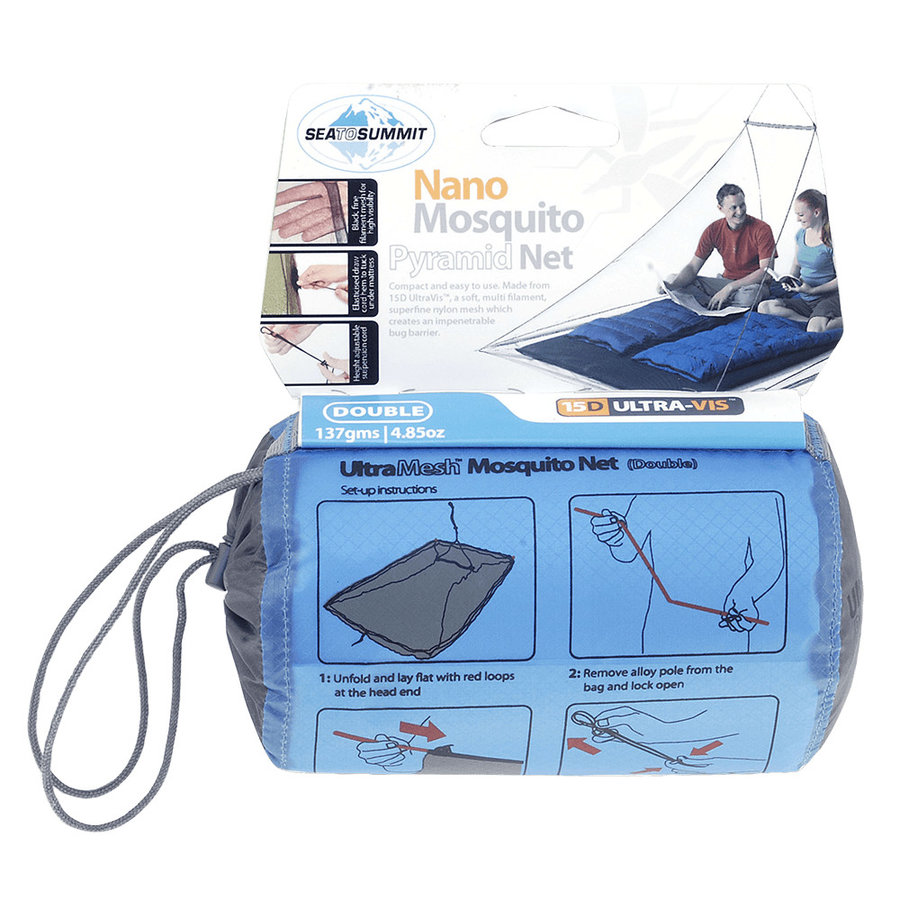 Moskytiéra pro 2 osoby Nano Mosquito Net Double, Double, Sea to Summit