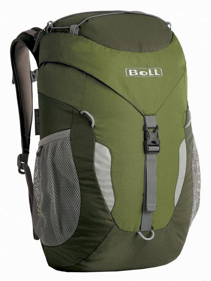 Zelený turistický batoh Trapper 18, Boll - objem 18 l