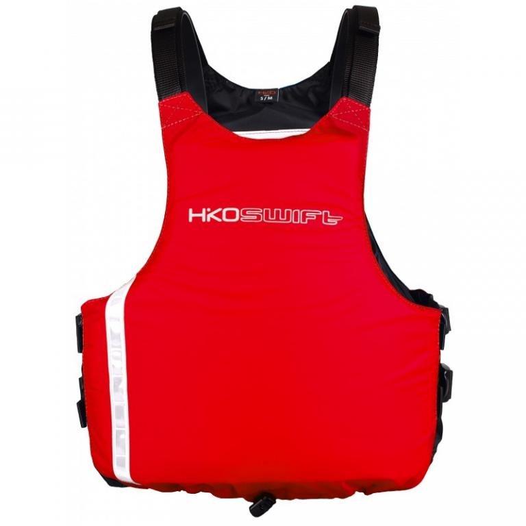 Červená plovací plovací vesta Swift, Hiko