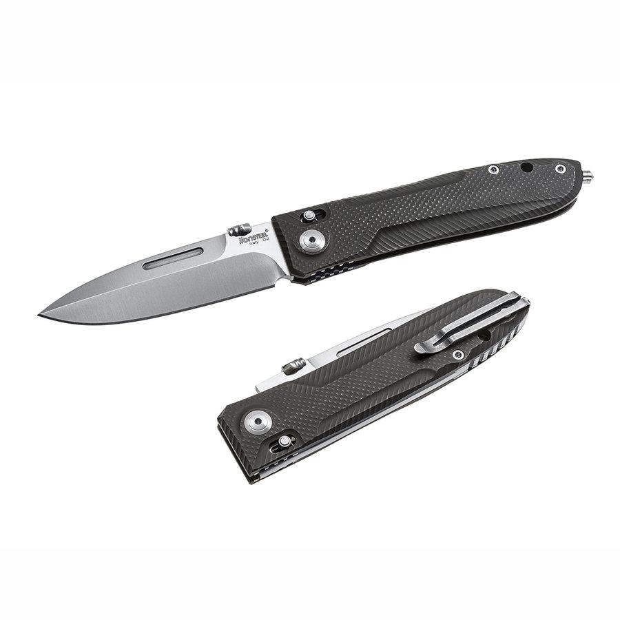 Nůž s pevnou čepelí 8710 GY, Lionsteel