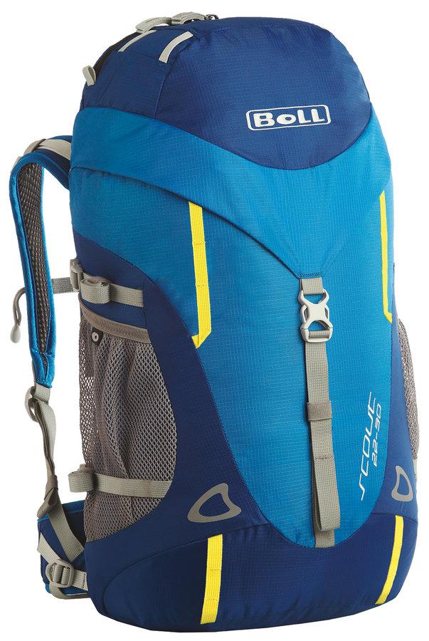 Modrý turistický batoh Scout 22-30, Boll
