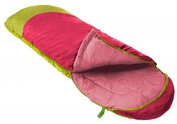 Růžový letní dekový dětský spacák s levým zipem PARROT 300, Prima