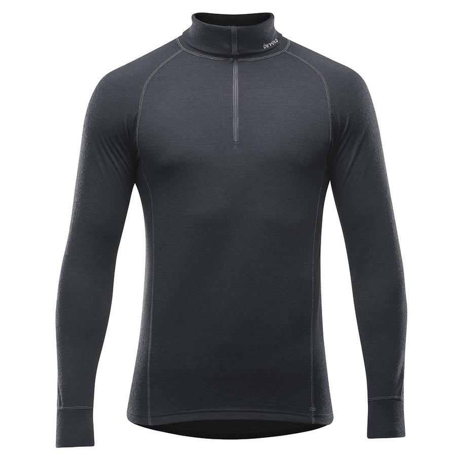 Merino pánské tričko Duo Active Man Zip Neck, Devold