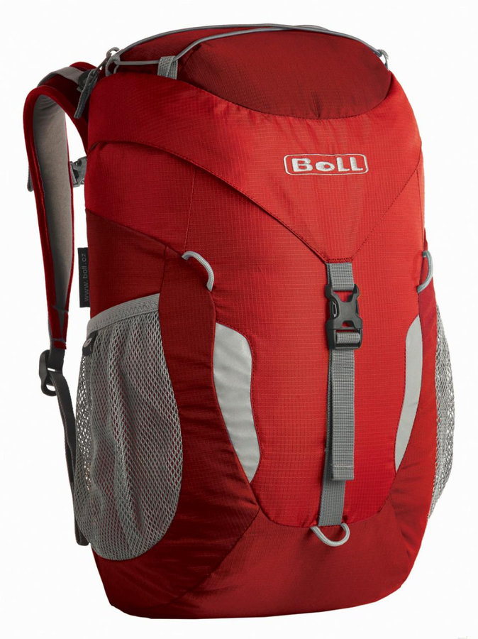 Červený turistický batoh Trapper 18, Boll - objem 18 l