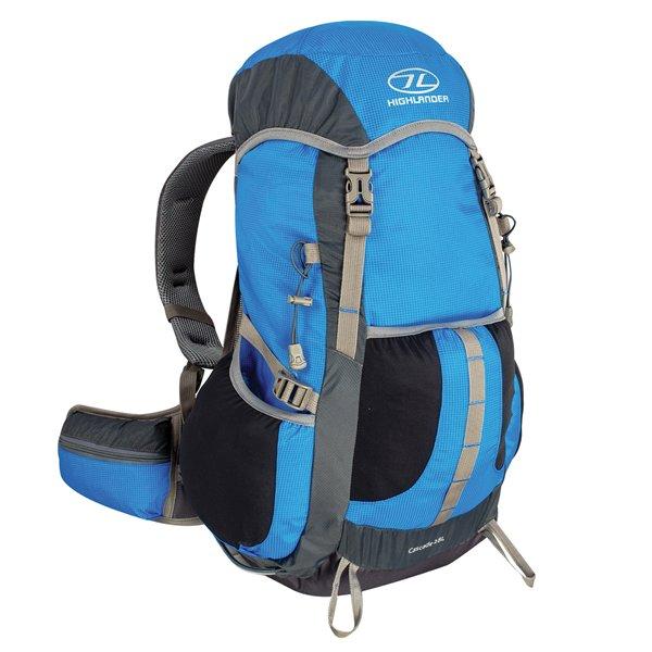 Modrý turistický batoh Cascade 28, Highlander - objem 28 l