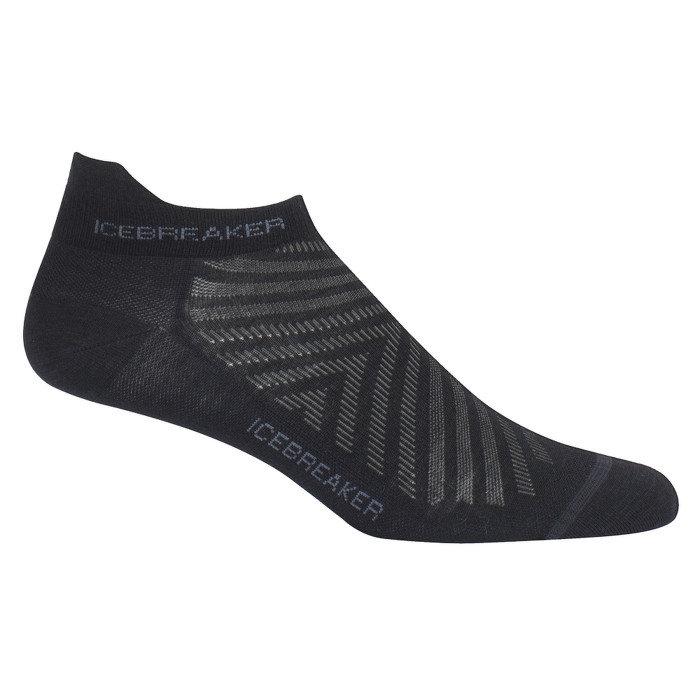Merino ponožky Run+ Ultra Light Micro, Icebreaker - velikost M