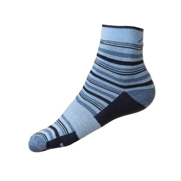 Modré pánské ponožky Stripe, Fjord Nansen - velikost 35-38 EU