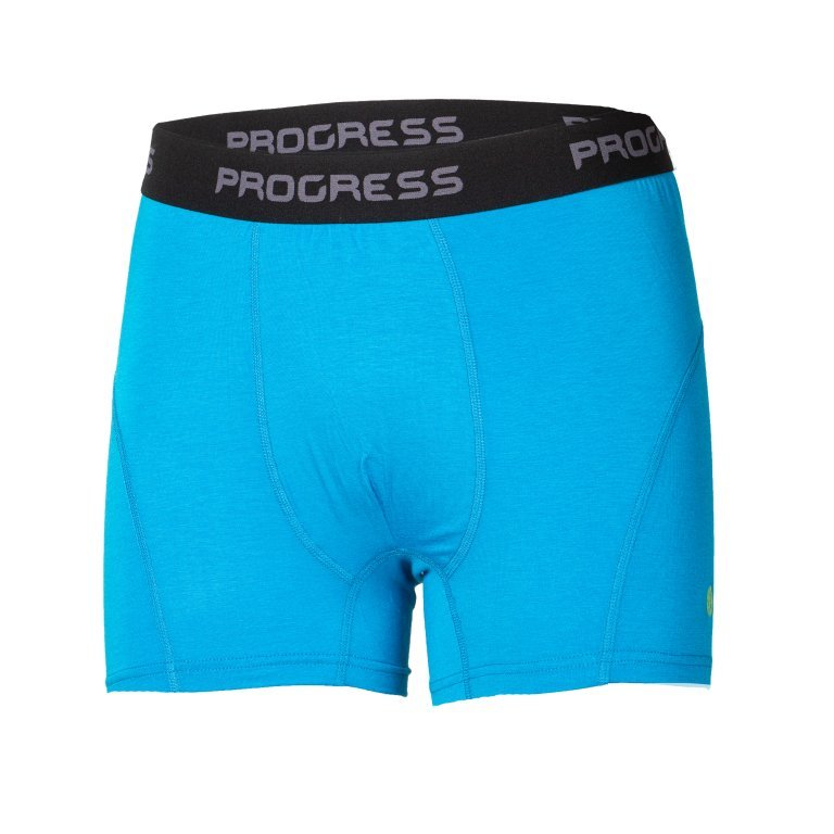 Modré bambusové pánské boxerky E SKN, Progress