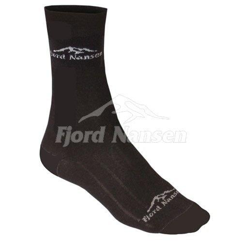 Černé pánské ponožky Trip, Fjord Nansen