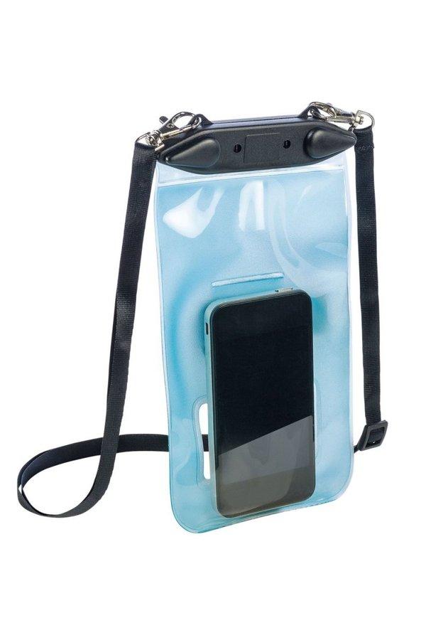 Modré vodotěsné pouzdro na telefon TPU WATERPROOF BAG, Ferrino