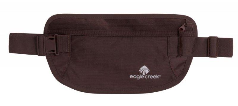 Hnědá skrytá bezpečnostní ledvinka Undercover Money Belt, Eagle Creek