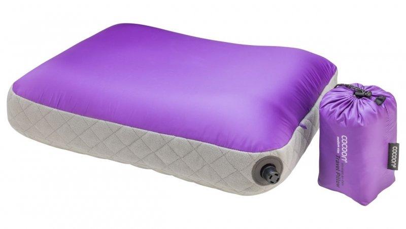 Nafukovací polštář Ultralight Air-Core L purple, Cocoon - velikost L