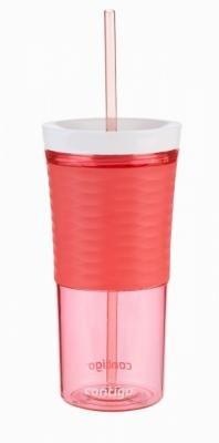 Červený shaker Autoclose HL Shake & Go 540, Contigo - objem 0,54 l
