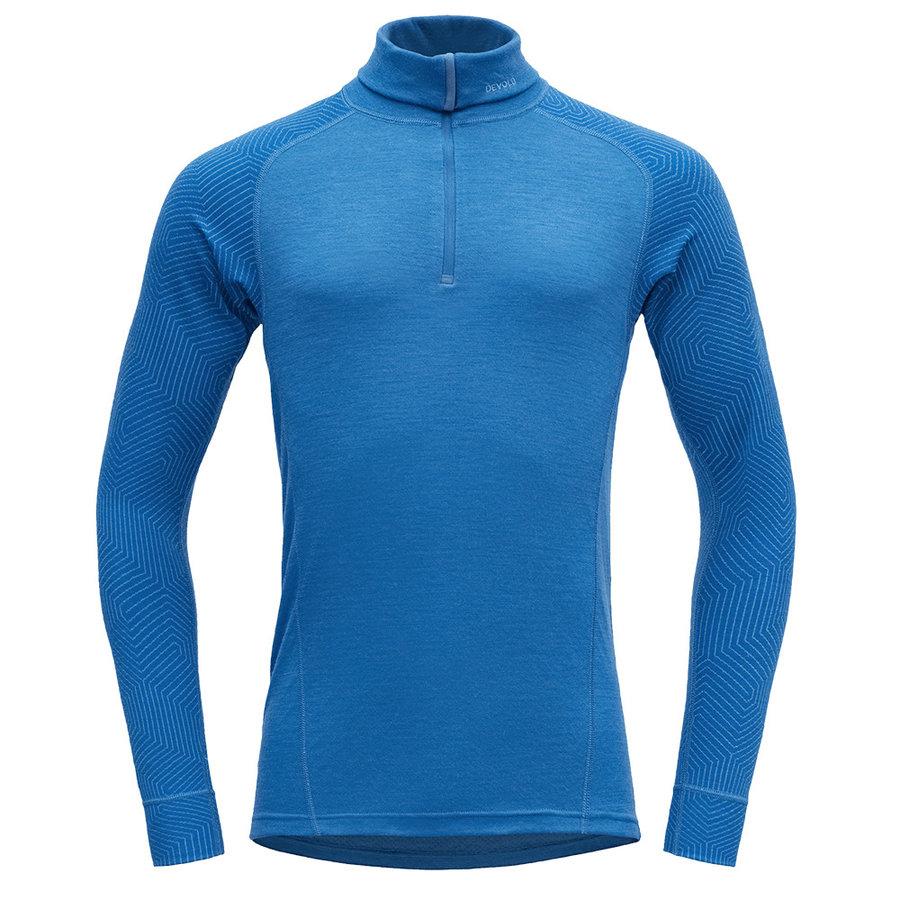 Merino pánské tričko Duo Active Man Zip Neck, Devold - velikost XL