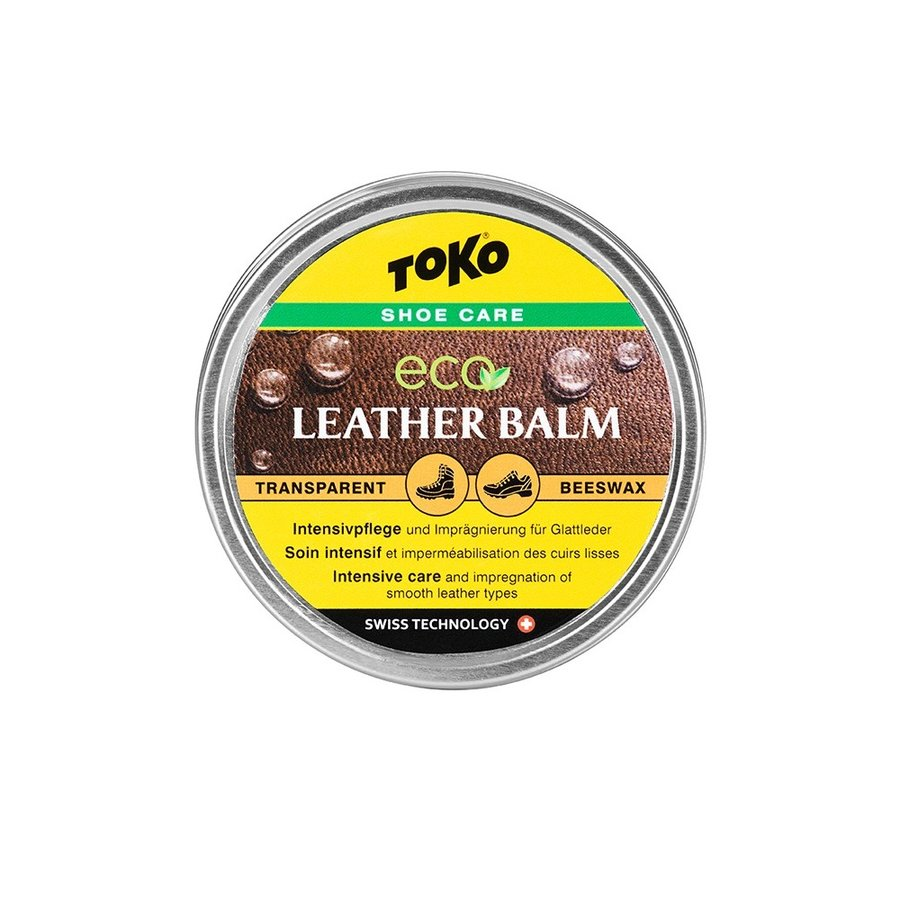 Impregnační vosk Eco Leather Balm, Toko