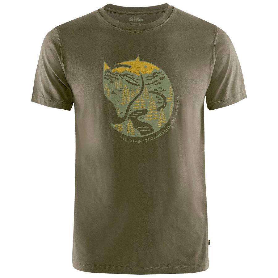 Bavlněné pánské tričko Arctic Fox T-Shirt M, Fjällräven - velikost XL