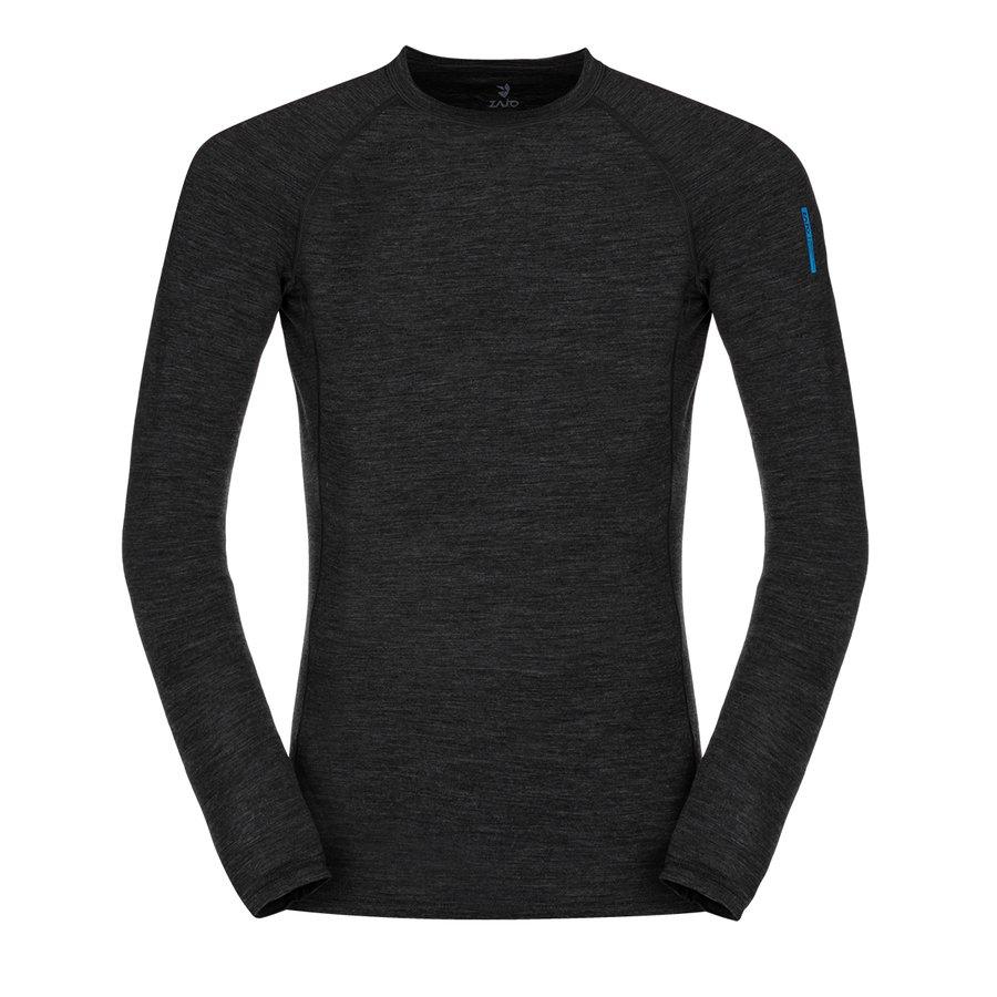 Merino pánské tričko Bjorn Merino Tshirt LS, Zajo - velikost L
