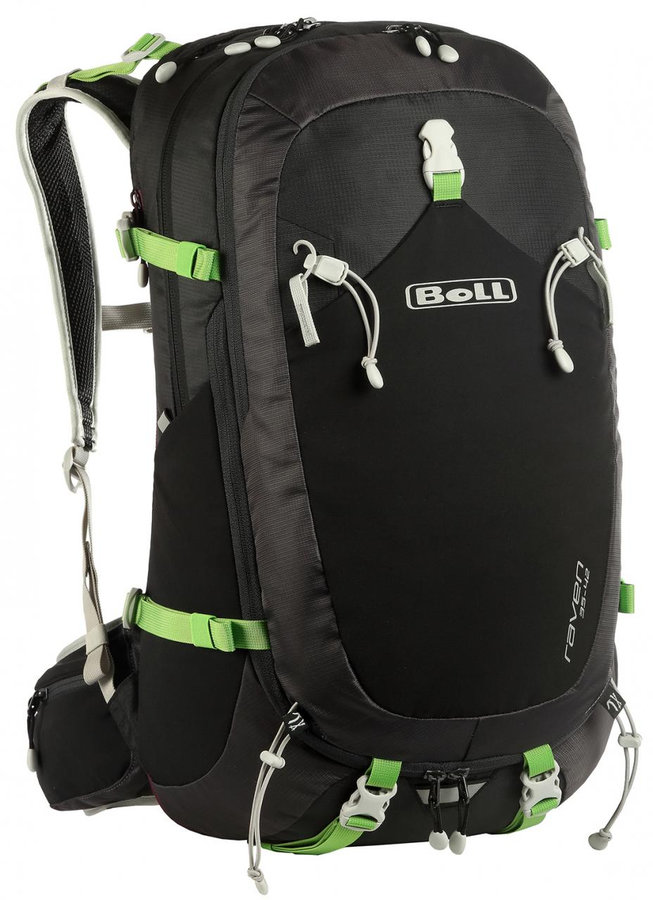 Černý turistický batoh RAVEN 35-42, Boll - objem 42 l